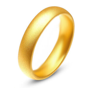 Sandy Mens Rings Womens Ring Band Ring Gold Fashion Cheap Jewellery Size 8