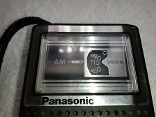 PANASONIC AM TRANSISTOR POCKET RADIO MODEL NO. R-1027 WORKING