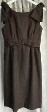 Marc By Marc Jacobs Womens Size 4 Brown Dress Fully Lined