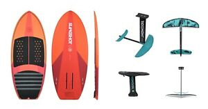 Slingshot WF1  Wake Surf Board & Ride Engine Futura Wake Foil Package