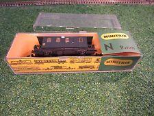 Minitrix 51 3001 00 Pack- und Postwagen Pw mit Bühne der K.Bay.Sts.B. OVP, gut