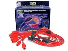 Taylor Cable 74276 Spark Plug Wire Set; Spiro Pro Red 8mm for Dodge/Jeep