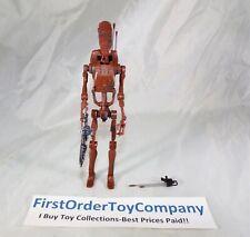 "Star Wars Black Series 6"" Inch Geonosis Battle Droid Loose Figure COMPLETE"