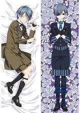 Black Butler Kuroshitsuji Ciel Phantomhive Pillow Case Bedding Hugging Body #L87