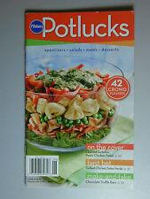 PILLSBURY Cookbook Booklet POT LUCK Recipes 2008 #324