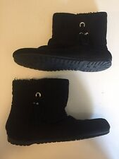 Girls Suede Ankle Boots Size 5