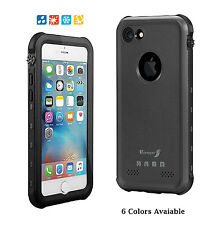For Apple iPhone 7 & 7 plus Waterproof Case Cover Shockproof Snowproof Thin case