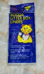 "Giant Booda Cat Litter Box Liners 8 Pack 35""x19"" For BoodaBox NEW"