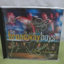 BROADWAY BOYS autograph 2010 Lullaby CD Annie musical themes Wicked & Lion King