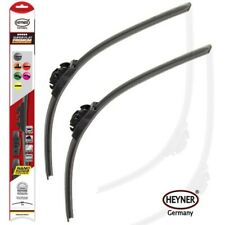 "FIAT CROMA 2005-2010 HEYNER SUPER FLAT quality WIPER BLADES 24""17"" set of 2"