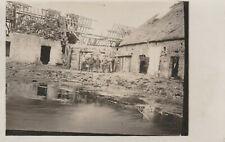 Foto AK 1 WK Soldaten Flandern Belgien 1917