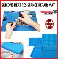 Heat Insulation Silicone Repair Mat Pad Phone Platform Soldering Magnetic Resist