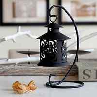 New Hanging Moroccan Metal Tea Light Candle Holder Lantern Garden Home Ornament