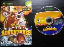 JEU Microsoft XBOX : Cabela's OUTDOOR ADVENTURES (Activision, sans notice)