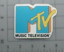 MTV sticker logo 90s skate cell laptop bumper vinyl decal weatherproof retro