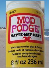 8 oz 236 ml Mod Podge Matte-Mat-Mate cs 11301