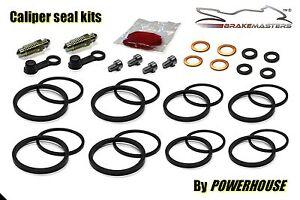 Kawasaki ZZR 1200 front brake caliper seal rebuild repair kit 2004 2005 ZX1200