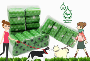 EcoJeannie 800-Count (40 Rolls) Dog Poop Bags USA Free Shipping **No Dispenser**