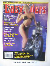 Easyriders Magazine   June 1988  #180  Biker Hall Of Fame/Rips Run To Mardi Gras