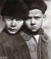"""Héliogravure - 1925 -           """" Les deux vagabonds - A. Keith  Dannat """""""