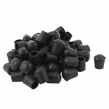 60 Pcs 12mm Diameter Rubber Furniture Chair Table Leg Tip Foot Cover Protector