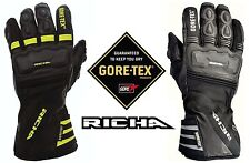 RICHA COLD PROTECT GORE-TEX GLOVES MOTORCYCLE GTX 100% WATERPROOF