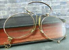 Antique/ Vintage 10K Gold w Tortoise Shell Lorgnette / Opera Glasses