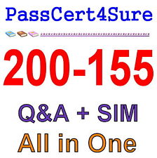 Cisco Best Practice Material For 200-155 Exam Q&A PDF+SIM