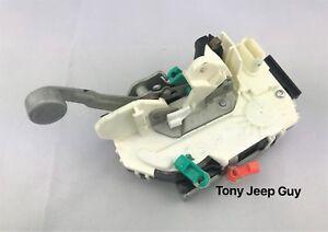 Jeep Wrangler JK Lock Latch FRONT DRIVER 4589505AJ MOPAR NEW OEM