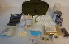 Lots OF Medical Supplies With Used Medical Supply Case Bag