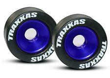 Traxxas Felgen Alu blau für Wheeliebar - 5186A