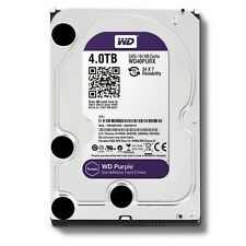 WD Purple 4TB Surveillance Hard Disk Drive - 5400 RPM Class SATA 6 Gb/s 64M