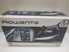 Rowenta DW8194 Steam Pro 1800 Watt 400 Holes Auto Off Clean 200 G Anti Drip Iron
