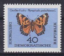 DDR Mi Nr. 1008 **, Schmetterlinge 1964, postfrisch MNH