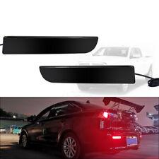 Rear Bumper Brake w/Sequential Turn Signal LED Lights For Mitsubishi Lancer Evo