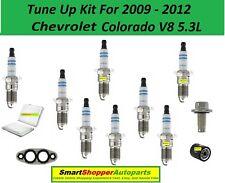 Tune Up Kit For 2009 - 2012 Chevrolet Colorado V8 5.3L Oil Air Filter, Spark Plu