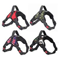 Adjustable Nylon Dogs Harness Vest Collar Puppy Chest Strap Pets Supplies UK