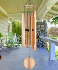 New listing Memorial Wind Chimes Outdoor Large Deep Tone 36 Inch Rose Gold