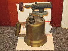 Vintage Antique Otto Bernz Brass Solder Torch Gas Blow Torch