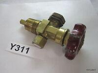 Kohda Brass High Pressure Gas Cylinder Packed Valve W0.6 PG, TP 24.5M