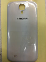 Battery Back Door Replacement Cover Samsung Galaxy S4 White i9500 i9505 i337