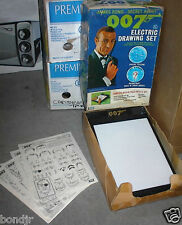 JAMES BOND 007 - 1966 Electric Drawing Set