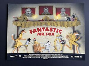 Zeb Love Fantastic Mr Fox Art Print Poster BNG Mondo artist Wes Anderson