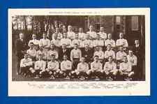Carte postale Australian Rugby League (Nu) Team 1921-22