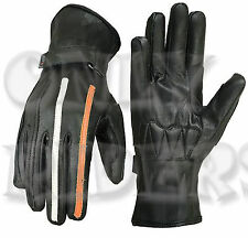 Gants Motorrad, Gants Pour Cuir, Chopper, Biker Gloves, Moto, Velo,  Scooter