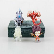 4PCS WoW World of Warcraft Zeratul Kerrigan Arthas PVC Action Figures Toys