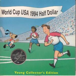 1994 World Cup USA Commemorative Clad Half Dollar 50C Young Collectors Edition