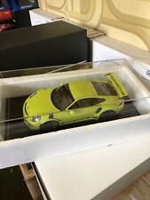 1/18 Spark Porsche 911 991 GT3 RS 2015 Verte