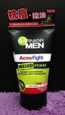 100ml Garnier Men Naturals Acno Fight Wasabi Foam Face Wash Acne Whitening Effec