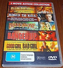 MOVIE ACTION COLLECTION (5 MOVIES 2 DVD'S) REFER TO DESCRIPTION FOR MOVIE TITLES